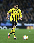 Gonzalo Zarate of BSC Young Boys - UEFA Europa League Round of 32 Second Leg - Everton vs Young Boys - Goodison Park Stadium - Liverpool - England - 26th February 2015 - Picture Simon Bellis/Sportimage