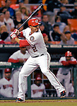 18 May 2007: Washington Nationals infielder Felipe Lopez in action against the Baltimore Orioles at RFK Stadium in Washington, DC. The Orioles defeated the Nationals 5-4 in the first game of the 3-game interleague series...Mandatory Photo Credit: Ed Wolfstein Photo