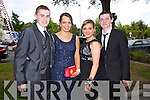 Having a wonderful time at the Causeway Comprehensive School Debs at the Brandon Hotel on Thursday were l-r  Kevin Burke, Louise Ryan, Rebecca Mulvihill, Brian Murphy