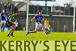 Michael Geaney Kerry in action against  Mayo in the first round of the National Football League at Fitzgerald Stadium Killarney on Sunday.