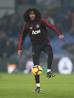 Manchester United's Tahith Chong<br /> <br /> Photographer Rob Newell/CameraSport<br /> <br /> The Premier League - Wednesday 27th February 2019  - Crystal Palace v Manchester United - Selhurst Park - London<br /> <br /> World Copyright © 2019 CameraSport. All rights reserved. 43 Linden Ave. Countesthorpe. Leicester. England. LE8 5PG - Tel: +44 (0) 116 277 4147 - admin@camerasport.com - www.camerasport.com