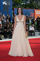 Rebecca Hall attends the premiere of 'First Reformed' the 74th Venice Film Festival at Palazzo del Cinema in Venice, Italy, on 31 August 2017. Photo: Hubert Boesl <br /> <br /> <br /> - NO&nbsp;WIRE&nbsp;SERVICE&nbsp;- Photo: Hubert Boesl/dpa /MediaPunch ***FOR USA ONLY***