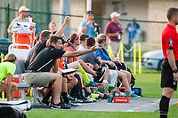 Kansas City, MO - Thursday August 10, 2017: Vlatko Andonovski during a regular season National Women's Soccer League (NWSL) match between FC Kansas City and the North Carolina Courage at Children's Mercy Victory Field.