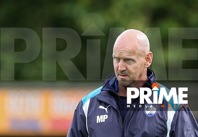 Chesterfield strength & conditioning coach Mal Purchase during the Sky Bet League 1 match between AFC Wimbledon and Chesterfield at the Cherry Red Records Stadium, Kingston, England on 3 September 2016. Photo by Andy Rowland / PRiME Media Images.