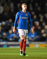 Ross McCrorie of Portsmouth during Portsmouth vs Exeter City, Leasing.com Trophy Football at Fratton Park on 18th February 2020