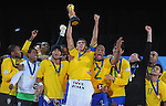 Fussball international: Brasilien gewinnt den FIFA 2009 Confederations Cup