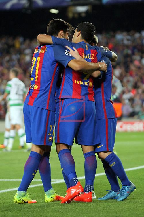 UEFA Champions League 2016/2017 - Matchday 1.<br /> FC Barcelona vs Celtic FC: 7-0.