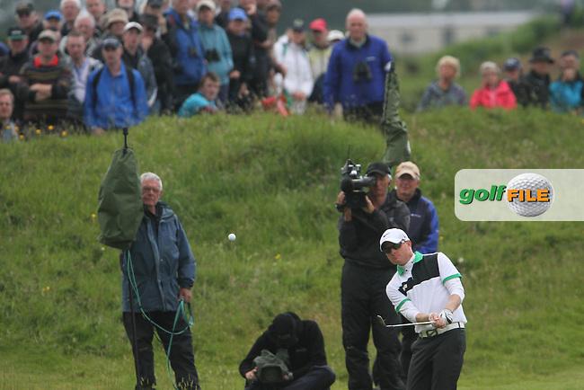 Simon Dyson (ENG) on te 12th on Day 2 of the 2012 Irish Open at Royal Portrush Golf Club, Portrush, Co.Antrim, 29/6/12...(Photo Jenny Matthews/www.golffile.ie)