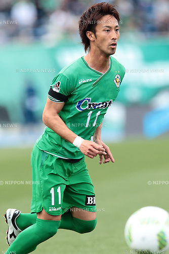 Shuto Minami (Verdy), <br /> APRIL 23, 2016- Football /Soccer : <br /> 2016 J2 League match <br /> between Tokyo Verdy 0-3 Mito Hollyhock <br /> at Komazawa Olympic Park Stadium in Tokyo, Japan. <br /> (Photo by AFLO SPORT)