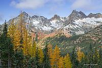 Cutthroat Mountain in autumn