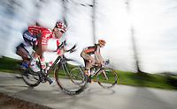 eventual race winner: Kenny &quot;zoef&quot; Dehaes (BEL)<br /> <br /> Nokere Koerse 2014