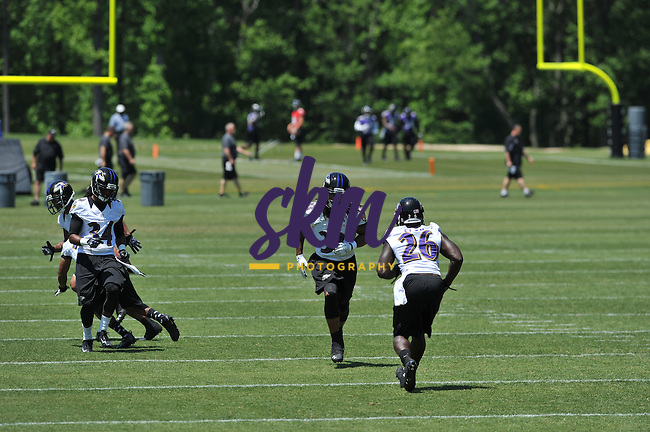 The Ravens hold their OTA's in Owings Mills at Under Armour Performance Center on Friday afternoon.