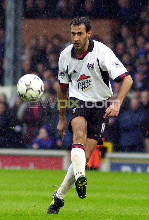 Pix: Dave Winter/SWpix.com. Soccer. FA Barclaycard Premiership. Fulham v Ipswich. 12/02/2002...COPYWRIGHT PICTURE>>SIMON WILKINSON>>01943 436649>>..Fulham's Sylvain Legwinski.