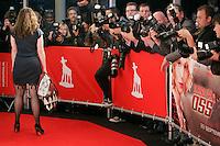 20110921 - Utrecht - Foto: Ramon Mangold - NFF 2011 - Nederlands Filmfestival - .Openingsavond van de 31ste editie van het Nederlands Filmfestival in de Utrechts Stadsschouwburg..Sanne Vogel poseert voor de masaal toegestoomde pers.