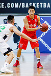 Cheng Ho Hang #18 of SCAA Men's Basketball Team looks to pass the ball during the Hong Kong Basketball League game between Tycoon and SCAA at Southorn Stadium on May 23, 2018 in Hong Kong. Photo by Yu Chun Christopher Wong / Power Sport Images