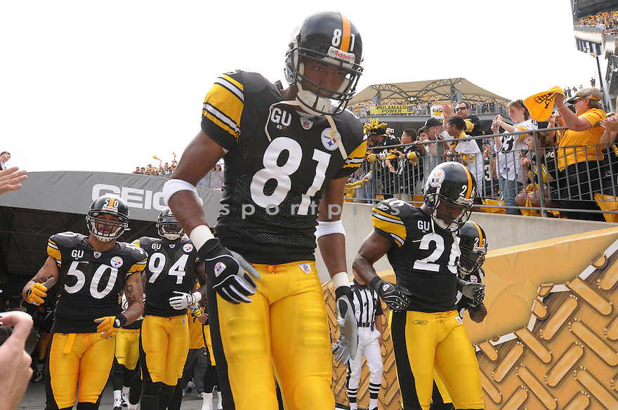 DALLAS PARKER, of the Pittsburgh Steelers, in action during the Steelers game against the Houston Texans  in Pittsburgh, Pennsylvania on September 7, 2008..The Pittsburgh Steelers won 38-17