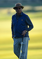 Andy Garcia looks on during Round 1 of the 2015 Alfred Dunhill Links Championship at the Old Course, St Andrews, in Fife, Scotland on 1/10/15.<br /> Picture: Richard Martin-Roberts | Golffile