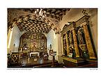 Chapel interior, San Francisco de Asís (Mission Dolores) by Larry Angier.