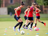 USWNT Training, July 26, 2016