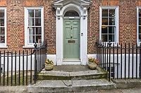 BNPS.co.uk (01202 558833)<br /> Pic: HamptonsInternational/BNPS<br /> <br /> The charming former home of beloved comedy actor Michael Aldridge has emerged on the market for £2.7million.<br /> <br /> Aldridge, who starred in the popular BBC sitcom Last of the Summer Wine, spent his final years in this Grade II listed Georgian townhouse in Greenwich, south east London.<br /> <br /> He appeared as the retired headmaster and budding inventor Seymour Utterthwaite from 1986 to 1990. The actor, who was also a star of the stage, died in 1994. <br /> <br /> Built in the early 18th century, the five bedroom home is set over four floors and offers views of Greenwich Park. It is being sold with estate agent Hamptons International.