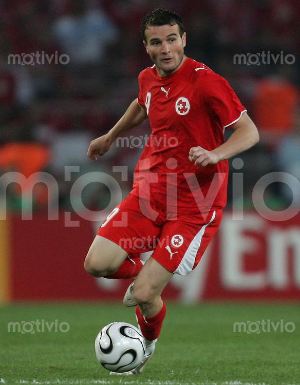 Fussball WM 2006  Gruppenspiel  Vorrunde Gruppe G  Schweiz - Sued Korea ; Switzerland - Korea Republic  Alexander FREI (SUI)