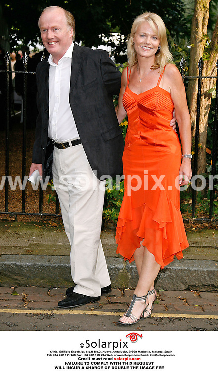 ALL ROUND PICTURES FROM SOLARPIX.COM. .David Davies and wife arrive for the David Frost Summer party in Carlyle Square, London on 05.07.06. Job Ref: 2548/SFE..MUST CREDIT SOLARPIX.COM OR DOUBLE FEE WILL BE CHARGED..