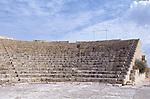 Amphitheater, amphitheatre, Archeological site of Kourion, (Curium) near Limassol, Cyprus, Zypern