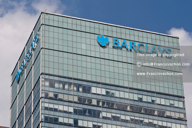 Barclays offices is pictured in the New York City borough of Manhattan, NY, Tuesday August 2, 2011. Barclays PLC (LSE: BARC, NYSE: BCS) is a global banking and financial services company.
