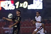 SÃO PAULO,SP,30 AGOSTO 2012 - CAMPEONATO BRASILEIRO - SÃO PAULO x BOTAFOGO Elkison jogador do Botafogo  durante partida São Paulo x Botafogo  válido pela 20º rodada do Campeonato Brasileiro no Estádio Cicero Pompeu de Toledo  (Morumbi), na região sul da capital paulista na noite desta quinta feira  (30). (FOTO: ALE VIANNA -BRAZIL PHOTO PRESS)