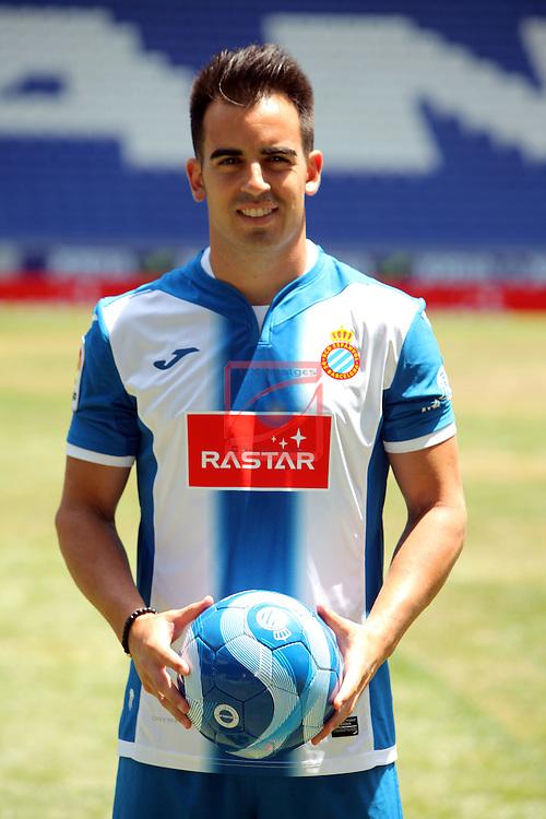 League BBVA 2016/2017.<br /> Jose Manuel Jurado presented as new player of RCD Espanyol.