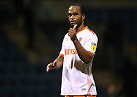 Blackpool's Nathan Delfouneso at the end of todays match<br /> <br /> Photographer Rachel Holborn/CameraSport<br /> <br /> The EFL Sky Bet League One - Gillingham v Blackpool - Tuesday 6th November 2018 - Priestfield Stadium - Gillingham<br /> <br /> World Copyright &copy; 2018 CameraSport. All rights reserved. 43 Linden Ave. Countesthorpe. Leicester. England. LE8 5PG - Tel: +44 (0) 116 277 4147 - admin@camerasport.com - www.camerasport.com