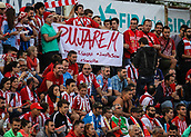 "June 4th 2017, Estadi Montilivi,  Girona, Catalonia, Spain; Spanish Segunda División Football, Girona versus Zaragoza; Banner that states ""we'll get promoted"""