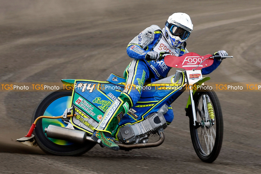Antonio Lindbäck - Speedway Grand Prix at Leszno, Poland - 30/04/2011 - MANDATORY CREDIT: Rafal Wlosek/TGSPHOTO - .Self billing applies where appropriate - 0845 094 6026 - contact@tgsphoto.co.uk - NO UNPAID USE.
