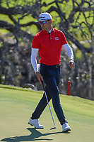 Rafael Cabrera Bello (ESP) looks over his putt on 18 during round 1 of the Arnold Palmer Invitational at Bay Hill Golf Club, Bay Hill, Florida. 3/7/2019.<br /> Picture: Golffile | Ken Murray<br /> <br /> <br /> All photo usage must carry mandatory copyright credit (&copy; Golffile | Ken Murray)
