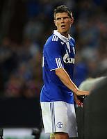 FUSSBALL   EUROPA LEAGUE   SAISON 2011/2012   Play-offs FC Schalke 04 - HJK Helsinki                                25.08.2011 Klaas-Jan HUNTELAAR (FC Schalke 04)