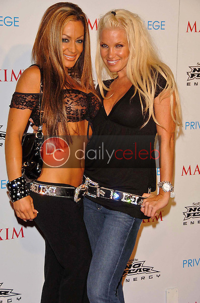 Lauren Wilman and Tina Jordan<br />at the MAXIM Magazine and Sobe No Fear X Games Party. Privilege, West Hollywood, CA. 08-03-06<br />Scott Kirkland/DailyCeleb.Com 818-249-4998