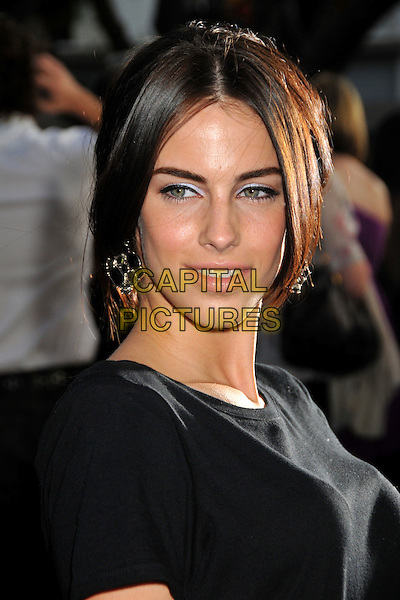 "JESSICA LOWNDES.""Fame"" Los Angeles Premiere held at the Pacific Theatre at The Grove, Los Angeles, California, USA..September 23rd, 2009.headshot portrait black .CAP/ADM/BP.©Byron Purvis/AdMedia/Capital Pictures."