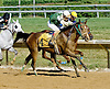 Explosive Heat MHF winning at Delaware Park on 7/25/12