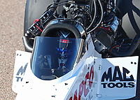 Feb 23, 2019; Chandler, AZ, USA; NHRA top fuel driver Steve Torrence during qualifying for the Arizona Nationals at Wild Horse Pass Motorsports Park. Mandatory Credit: Mark J. Rebilas-USA TODAY Sports