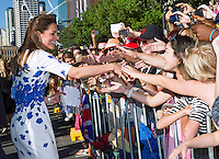 Kate, Duchess of Cambridge & Prince William visit Brisbane - Australia
