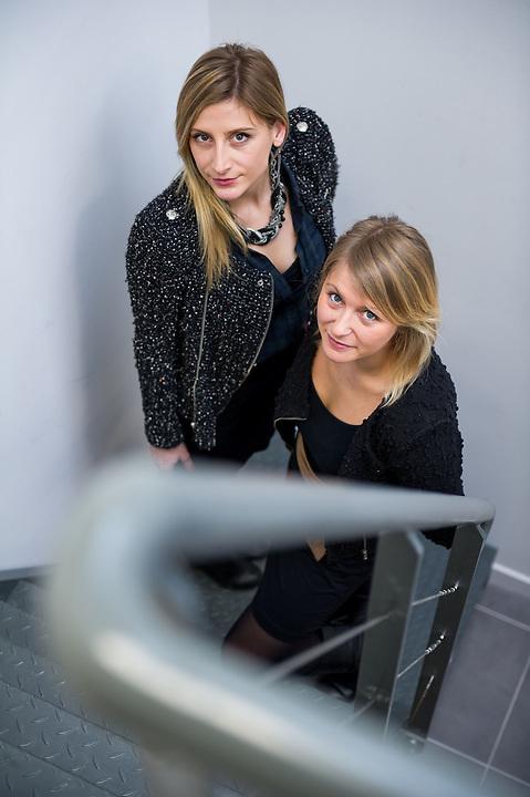 Clémentine Salgues et Audrey Courtot ont créé en juin 2012 leur propre cabinet: «M architecture & design» - Zone franche urbaine ZFU - Marseille 2013