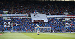 Rangers fans display of the blue sea of Ibrox
