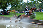 Stamford, Lincolnshire, United Kingdom, 7th September 2019, Becky Woolven (GB) riding DHI Babette K during the Cross Country Phase on Day 3 of the 2019 Land Rover Burghley Horse Trials, Credit: Jonathan Clarke/JPC Images