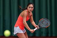 Wateringen, The Netherlands, March 14, 2018,  De Rhijenhof , NOJK 14/18 years, Isabella Mujan (NED)<br /> Photo: www.tennisimages.com/Henk Koster