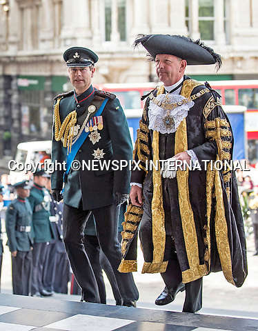 18.06.2015; London, UK: PRINCE EDWARD<br /> attended a service of commemoration at St Paul&rsquo;s Cathedral to mark the 200th Anniversary of the Battle of Waterloo. <br /> Mandatory Credit Photo: &copy;MoD/NEWSPIX INTERNATIONAL<br /> <br /> (Failure to credit will incur a surcharge of 100% of reproduction fees)<br /> IMMEDIATE CONFIRMATION OF USAGE REQUIRED:<br /> Newspix International, 31 Chinnery Hill, Bishop's Stortford, ENGLAND CM23 3PS<br /> Tel:+441279 324672  ; Fax: +441279656877<br /> Mobile:  07775681153<br /> e-mail: info@newspixinternational.co.uk<br /> **ALL FEES PAYABLE TO: &quot;NEWSPIX  INTERNATIONAL&quot;**
