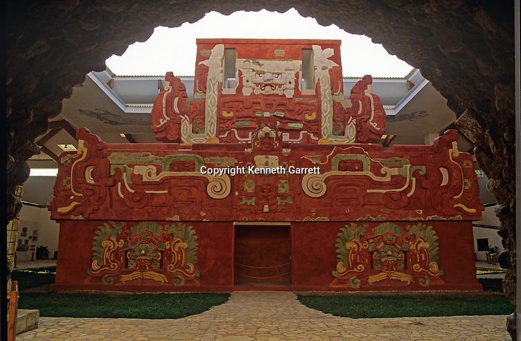 Copan, Rosalilla Temple, reconsruction, Maya, Honduras, La Ruta Maya,