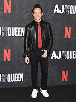 "10 January 2020 - Beverly Hills, California - George Kotsiopoulos. Netflix's ""AJ And The Queen"" Season 1 Premiere at The Egyptian Theatre in Hollywood. Photo Credit: Billy Bennight/AdMedia"