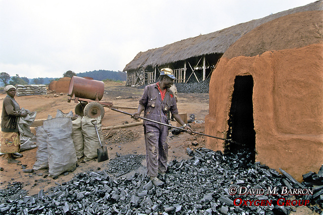 Man & Woman Working With Coal