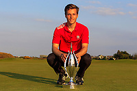 Matthew Jordan (Royal Liverpool) winner of the Lytham Trophy held at Royal Lytham &amp; St. Annes Golf Club on Sunday 6th May 2018.<br /> Picture:  Thos Caffrey / www.golffile.ie<br /> <br /> All photo usage must carry mandatory copyright credit (&copy; Golffile | Thos Caffrey)