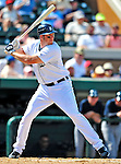 11 March 2009: Detroit Tigers' infielder Mike Hessman in action during a Spring Training game against the New York Yankees at Joker Marchant Stadium in Lakeland, Florida. The Tigers defeated the Yankees 7-4 in the Grapefruit League matchup. Mandatory Photo Credit: Ed Wolfstein Photo